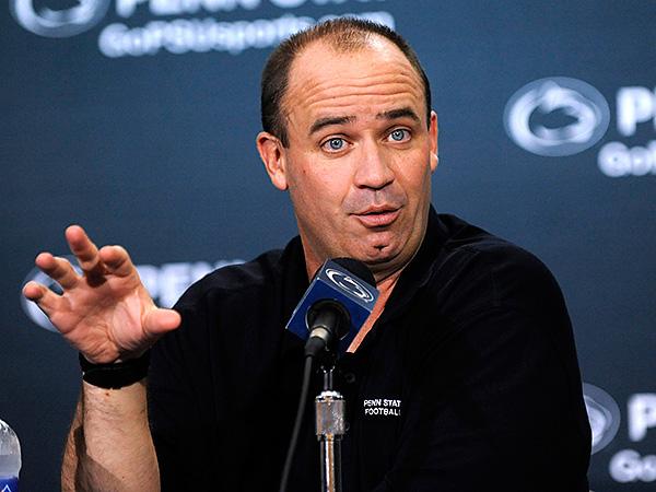 Penn State football coach Bill O´Brien. (Nabil K. Mark/Centre Daily Times/AP file photo)