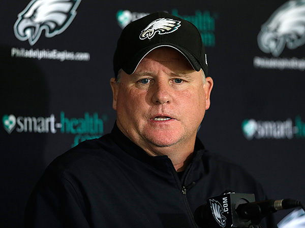 Eagles coach Chip Kelly. (Matt Rourke/AP)