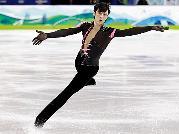 Johnny Weir. (Mark Baker/AP file photo)