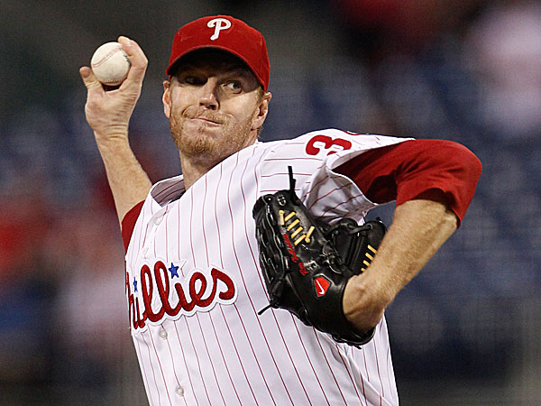 Phillies starting pitcher Roy Halladay. (Ron Cortes/Staff Photographer)
