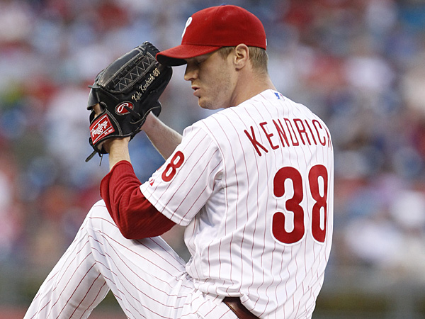 Phillies starting pitcher Kyle Kendrick. (Ron Cortes/Staff Photographer)