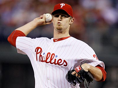 Phillies pitcher Kyle Kendrick is eligible for arbitration. (AP Photo/Matt Slocum)