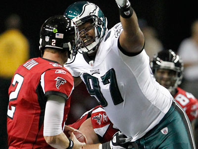 Eagles defensive tackle Cullen Jenkins has three sacks in two weeks. (Ron Cortes / Staff Photographer)