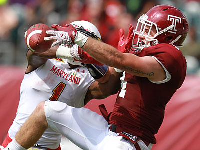 Temple faces off against Penn State on Saturday afternoon. (David Swanson/Staff Photographer)