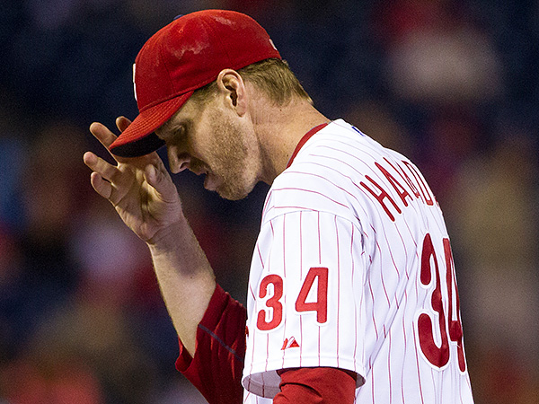 Phillies pitcher Roy Halladay. (Chris Szagola/AP)