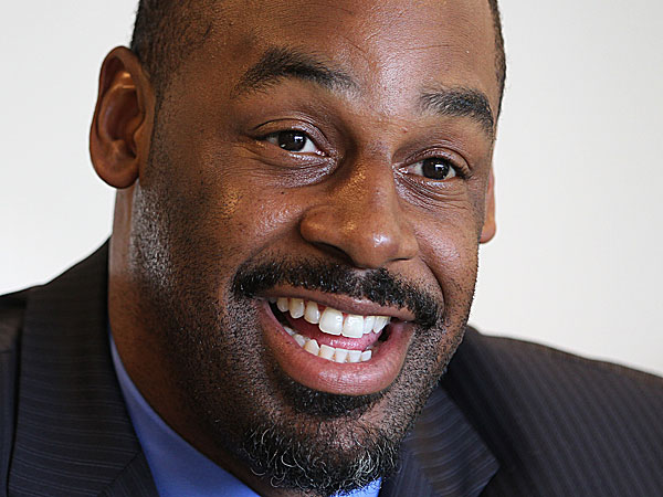 Former Eagles quarterback Donovan McNabb. (Michael Bryant/Staff Photographer)