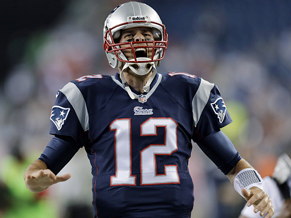 Patriots quarterback Tom Brady. (Charles Krupa/AP)