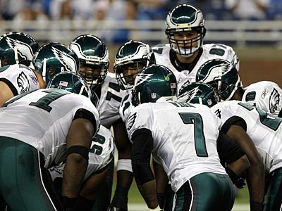 The Eagles´ offense had four plays of 25 yards or more against the Lions. (AP Photo / Carlos Osorio)