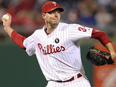Roy Halladay will likely get the start for the Phillies in Game 1 of the NLDS. (Steven M. Falk/Staff Photographer)
