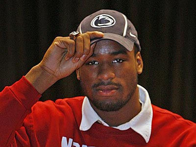 Defensive end Deion Barnes committed to Penn State in 2011. (Alejandro A. Alvarez/Staff Photographer)