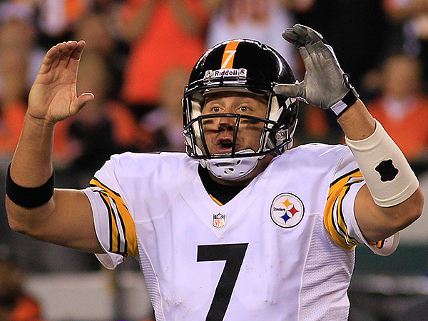 Pittsburgh Steelers quarterback Ben Roethlisberger. (Tom Uhlman/AP)