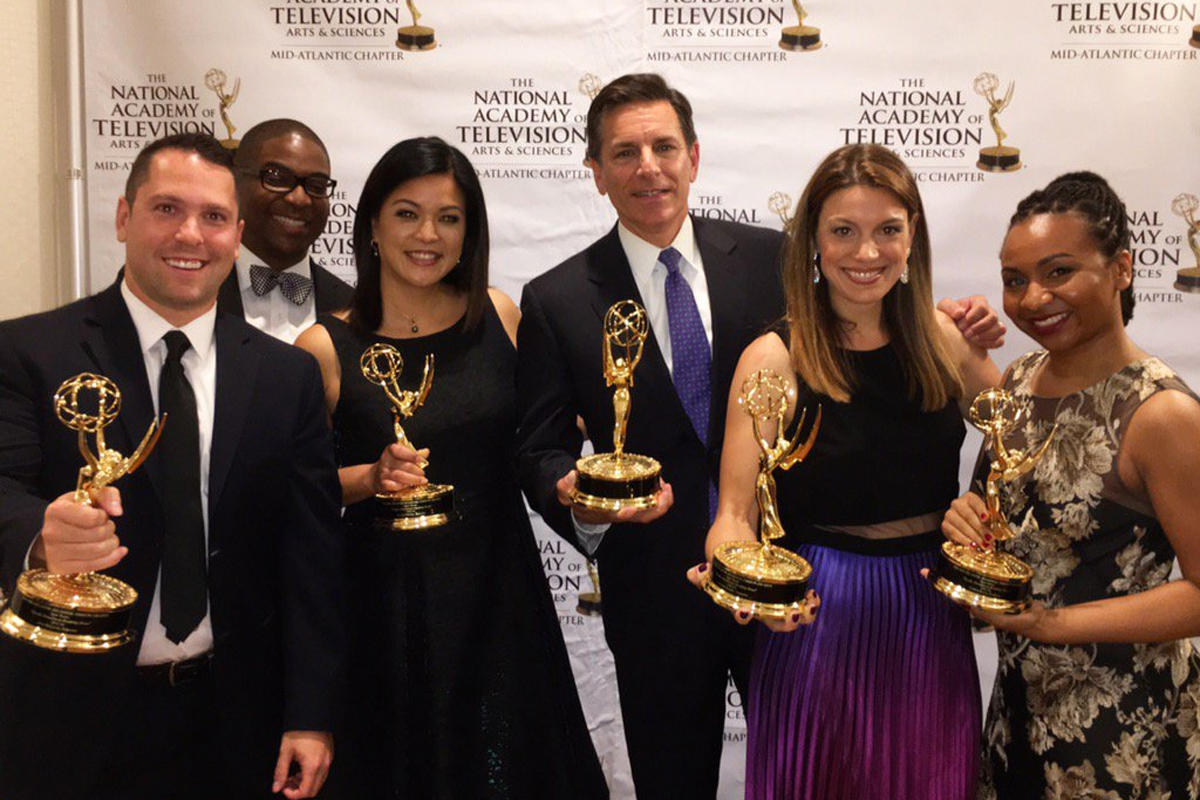 Amtrak crash coverage propels NBC10 to big Emmy haul
