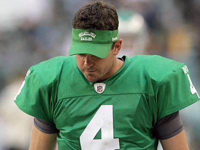 Kevin Kolb´s career in Philadelphia could be in serious jeopardy. (Yong Kim/Staff file photo)