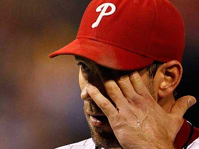 Cliff Lee allowed a season-high 11 hits in Tuesday night´s loss to the Nationals. (Ron Cortes/Staff Photographer)