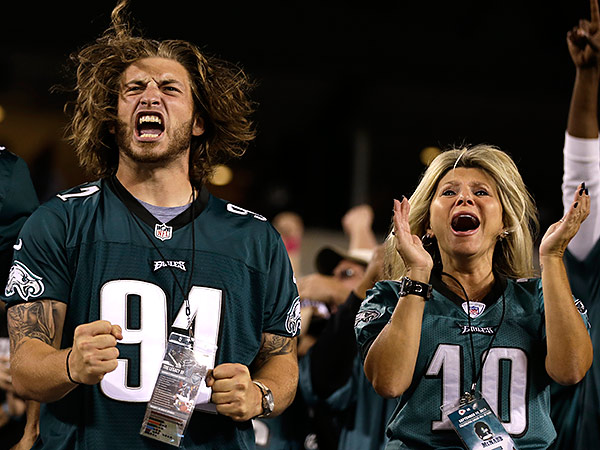 Eagles fans. (Matt Rourke/AP)