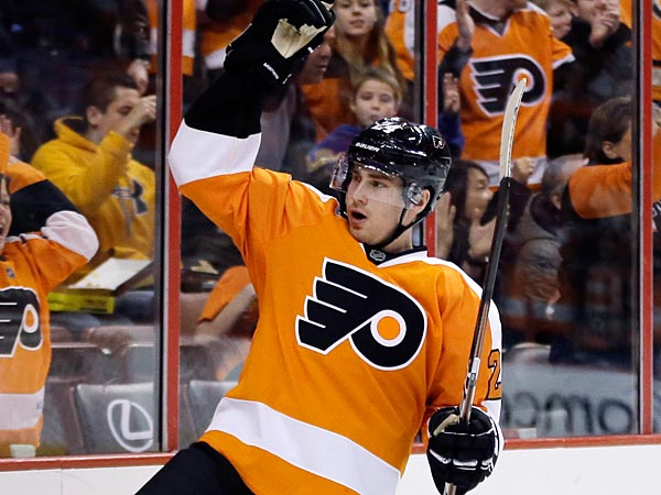 Philadelphia Flyers´ Matt Read. (AP Photo/Matt Slocum)