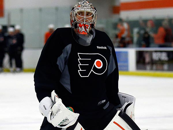 Flyers Have No Worries With Mason In Goal