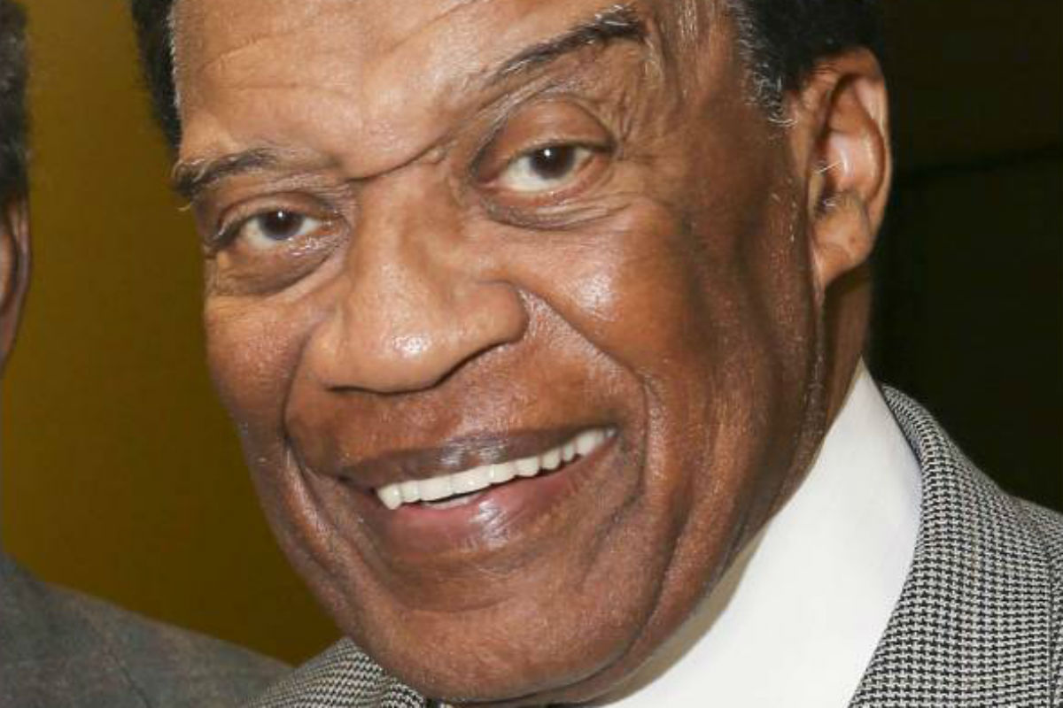 "FILE - In this May 23, 2014 file photo, Bernie Casey appears after a performance of ""The Tallest Tree in the Forest"" in in Los Angeles. Casey, the professional football player turned actor known for parts in ""Revenge of the Nerds"" - and ""I´m Gonna Git You Sucka,"" - died Tuesday, Sept. 19, 2017, in Los Angeles after a brief illness. He was 78."
