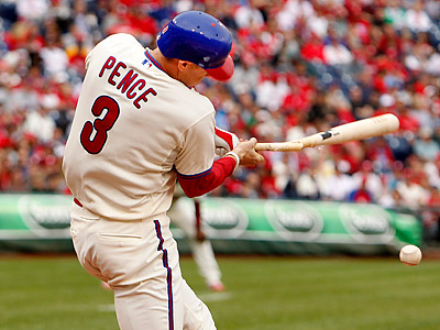 The Phillies´ Hunter Pence is expected to return to the lineup this weekend. (Ron Cortes/Staff Photographer)