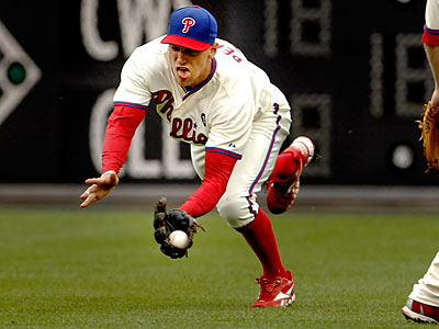 The Phillies´ Hunter Pence tweeted Wednesday that his knee is feeling great. (Ron Cortes / Staff Photographer)