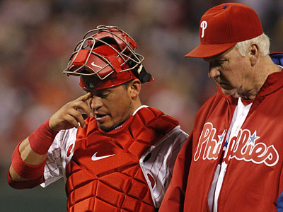 The Phillies aren´t hanging their heads over the team´s recent skid. ( Ron Cortes / Staff Photographer )