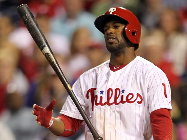 Jimmy Rollins. (Yong Kim/Staff Photographer)