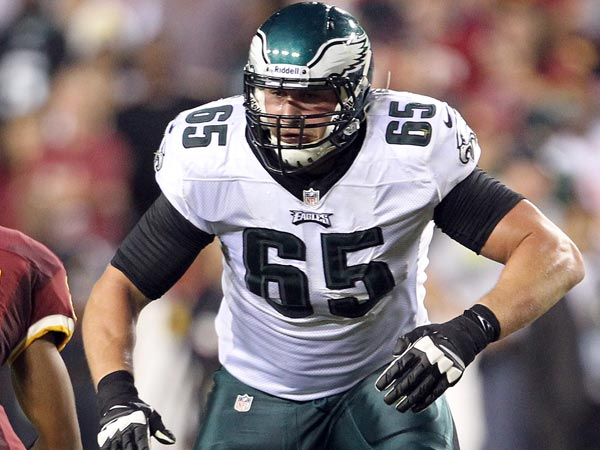 Eagles offensive lineman Lane Johnson. (Yong Kim/Staff Photographer)