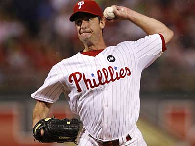 Jamie Moyer´s season is over. The Phillies´ veteran will undergo surgery to repair three torn tendons in his lower abdomen and groin.  (Ron Cortes / Staff Photographer)