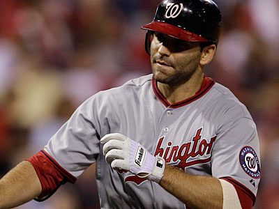 Nationals second baseman Danny Espinosa is one of the top bats against the Phillies. (Matt Slocum/AP Photo)