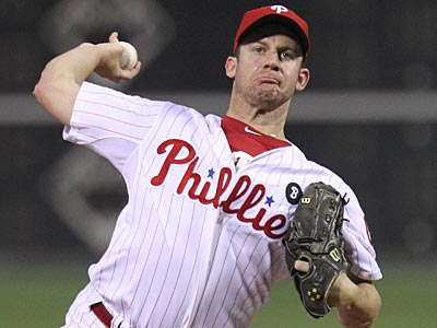Roy Oswalt, 34, was 9-10 with a 3.69 ERA last season for the Phillies. (Michael Bryant/Staff file photo)