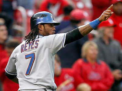 Jose Reyes signed a six-year deal with the Marlins. (Jeff Roberson/AP)