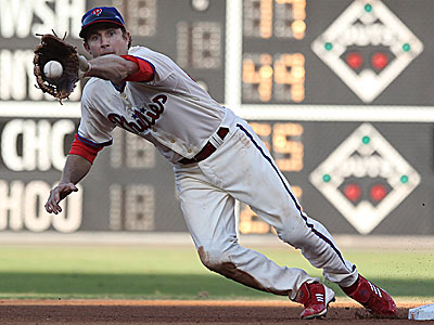 The Phillies plan for 2013 could involve Chase Utley playing third base. (Michael Bryant/Staff Photographer)