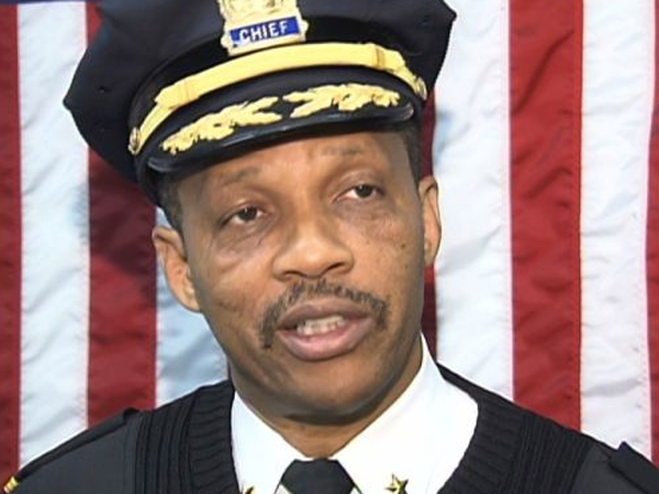 Irvington Police Chief Michael Chase