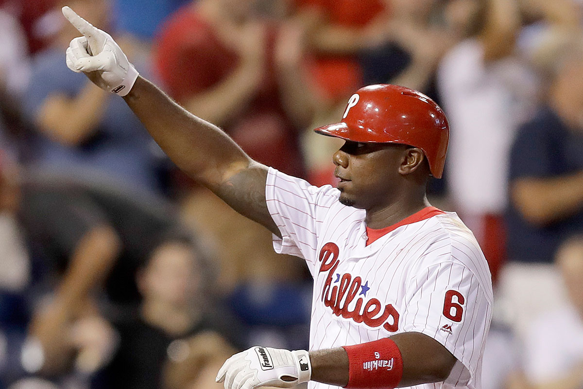 "Phillies slugger Ryan Howard earned the nickname ""The Big Piece."""