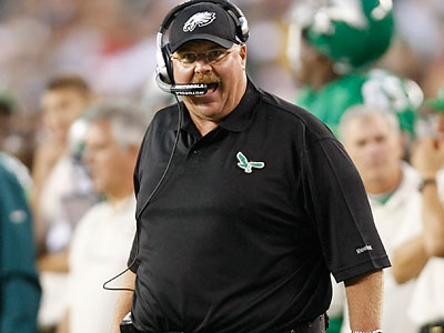 Opinions vary nationally about Andy Reid and his decision to start Michael Vick. (Michael S. Wirtz/Staff file photo)