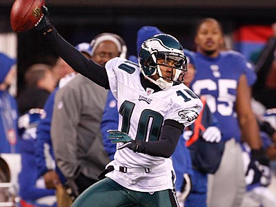 DeSean Jackson and the Eagles take on the Giants Sunday afternoon. (Ron Cortes/Staff file photo)