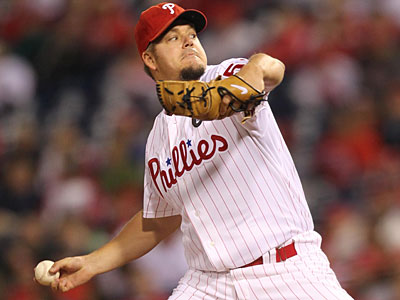 Can Joe Blanton claim a playoff roster spot? (David M Warren/Staff Photographer)