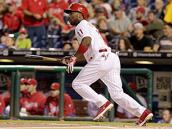 Phillies shortstop Jimmy Rollins. (H. Rumph Jr/AP)