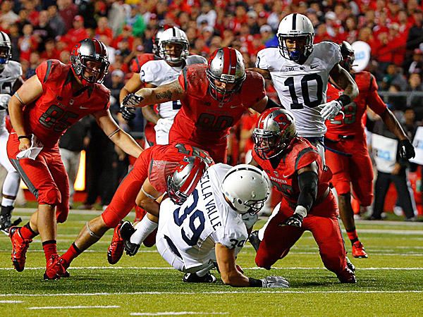 Punt Return Plays Psu Punt-return Unit Looking