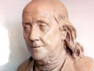 A Benjamin Franklin bust, which was valued in excess of $3 million, was stolen along with a small portrait from a home in Bryn Mawr.