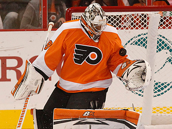 Flyers goaltender Ray Emery. (Ron Cortes/Staff Photographer)