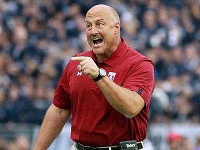 Temple head coach Steve Addazio. (David Swanson/Staff Photographer)
