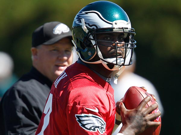 Vick 'very surprised' by how good leg felt