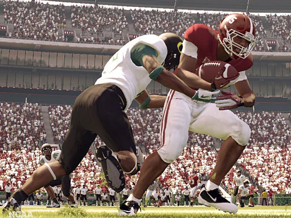 The future has been canceled for EA´s NCAA football series. (AP Photo/EA Sports)