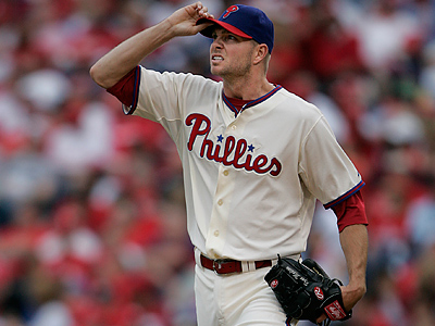 Ryan Madson is entering the final year of his three-year, $12 million contract. (Michael Bryant/Staff File Photo)