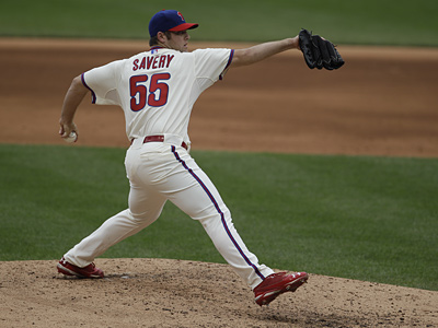 Joe Savery will focus on making an impression in spring training. (Associated Press)