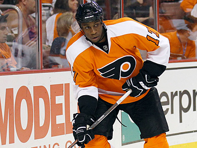 Wayne Simmonds was accused by Rangers forward Sean Avery of using a homophobic slur. (Yong Kim/Staff Photographer)