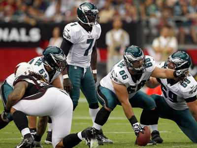 Jason Kelce says the Eagles´ problems with the Cardinals´ blitz were a team effort (Yong Kim/Staff Photographer)