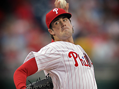 Cole Hamels will take the mound for the Phillies in Game 1 of their National League Division Series showdown with Milwaukee. (Jerry Lodriguss/Inquirer)