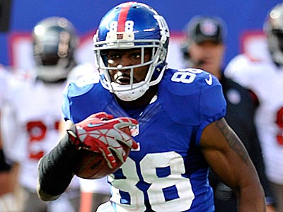 Hakeem Nicks will not play in Sunday´s game against the Eagles. (Bill Kostroun/AP)